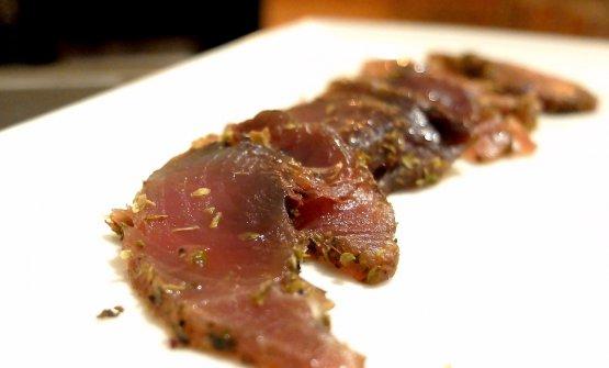Prosciutto di tonno alletterato