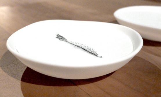 Alcuni piatti realizzati appositamente per il gastronomico del Moebius
