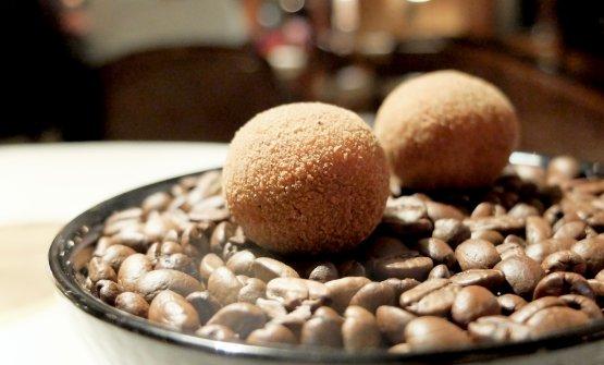 Cromesquis al baccalà mantecato e caffè