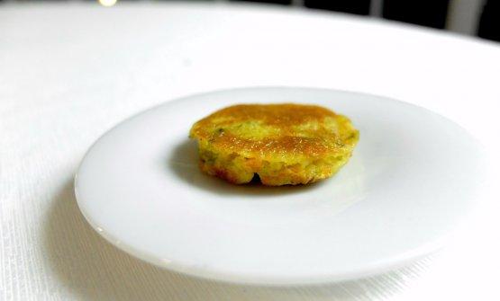 Frittella di fiore di zucchina