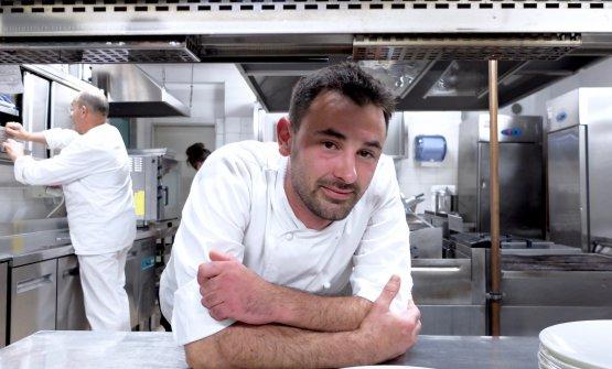 Lo chef Simone Breda, ristorante Sedicesimo Secolo