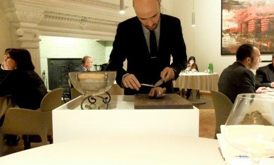 Thomas Piras sporzionaal tavolo...