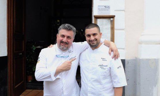 Pasquale e Gaetano Torrente. Tutte le foto che seguono sono di Tanio Liotta