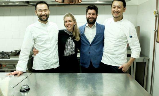 Lo chef Takeshi Iwai, la maîtreMaria Giulia Mag
