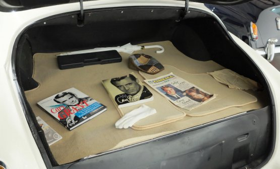 Nel portabagagli della Rolls Royce di Cary Grant