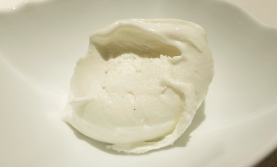 Gelato without egg-yolk