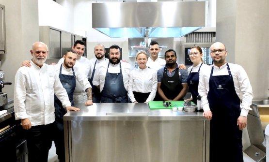 Lo staff al completo del nuovo Terrammare a Milano