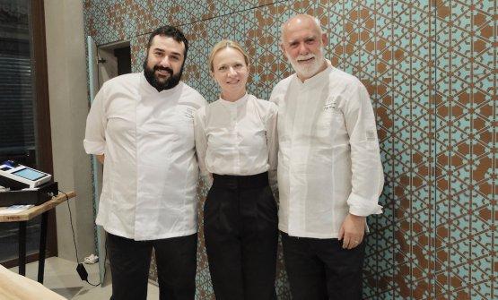 Ninni Radicini, Stefania Lattuca, Peppe Barone