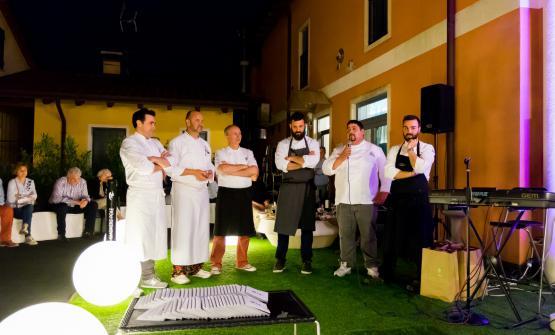 Un momento di LeAlture, l'evento voluto da Basso in memoria del suo amico e socio Stefano Leonardi