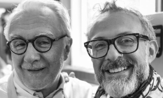 Ducasse and Massimo Bottura, colleagues and friends since they met when the latter was an intern at Louis XV in Monte Carlo, in 1994