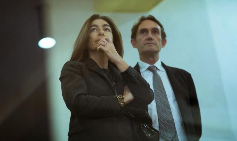 Chiara Quaglia e Piero Gabrieli, ideatori e motori di PizzaUp. Leiè amministratore delegato di Molino Quaglia, lui direttore marketing, ma ieri ha anche tenuto un'interessantissima lezione sulla digeribilità