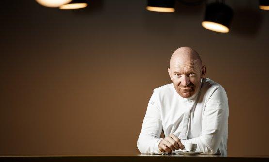 Lo chef Alfio Ghezzi. Firma la carta dei due risto