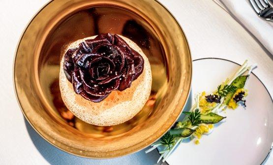 Rosa di Gorizia, Salmerino e Asparagi