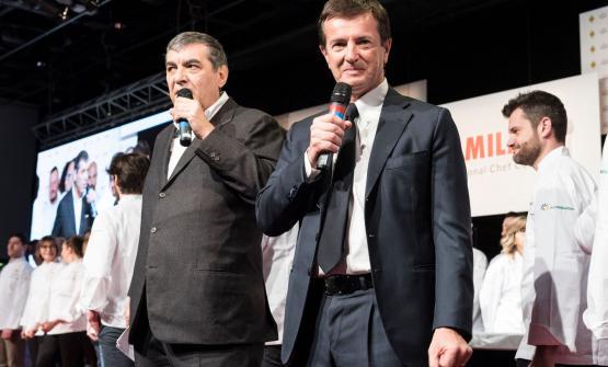 Claudio Ceroniof MagentaBureau,Giorgio Goriand Enrico Bartolini