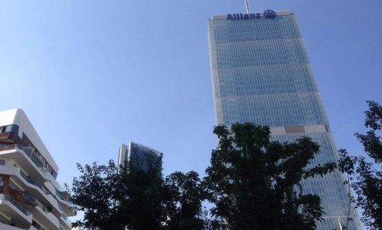 Il grattacielo Allianz a Milano