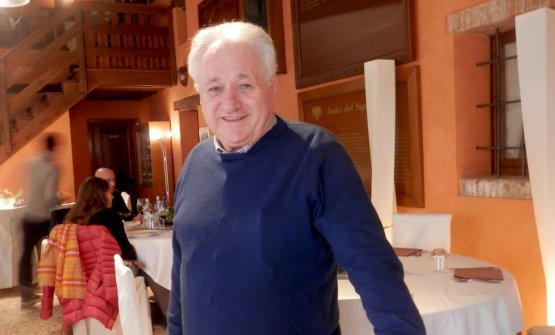 Egidio Fior, curatore delRadicchio d'oro, premio giunto alla 21a edizione