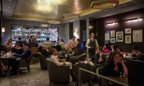 Il nuovo angolo bar nello scatto di Gary He