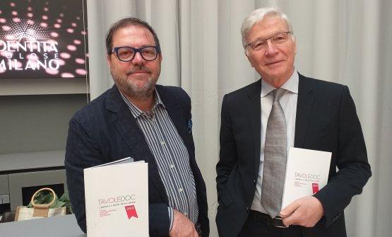 Elio Ghisalberti e Mario Cucci a Identità Golose Milano