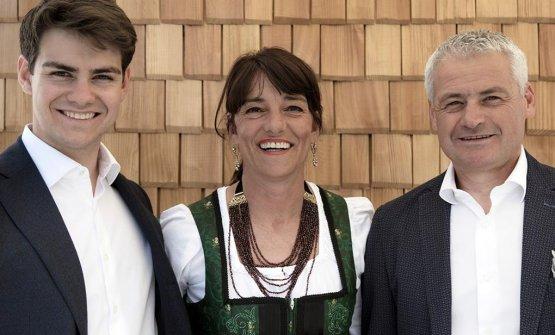 Emanuele, Bibiana, Maurizio