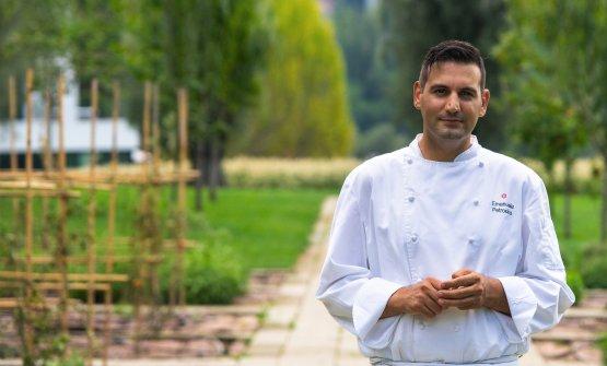 Emanuele Petrosino, 34 anni, chef delristorante