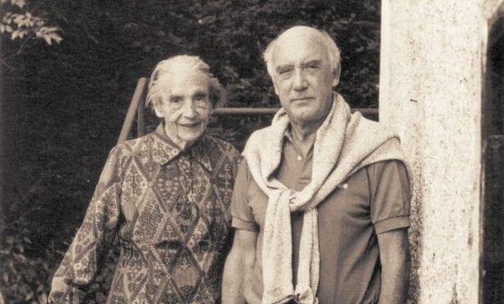 Rolly Marchi con sua madre Emma. Indimenticabile la sua cotoletta