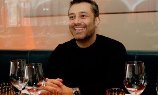 Un sorridente Enrico Buonocore