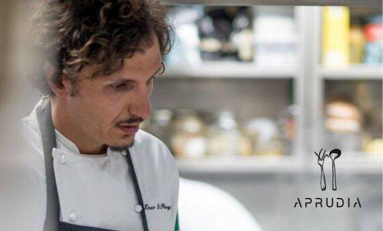 Enzo Di Pasquale, chef-patron di Aprudia a Giulianova (Teramo)