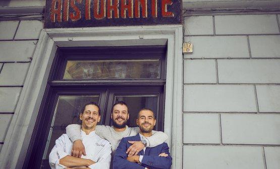 Lorenzo Careggio, Alberto Fele e Marco Pandoli: os