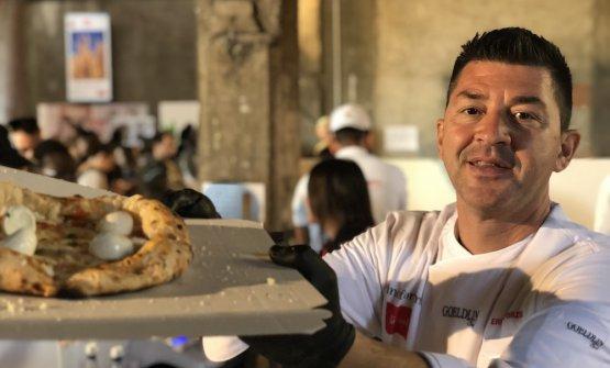Errico Porzio della pizzeria Porzio