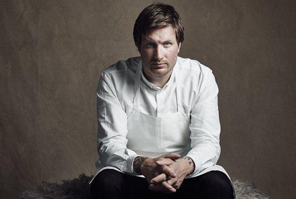 Esben Holmboe Bang, chef e co-proprietario di Maaemo, è nato a Copenhagen34 anni fa