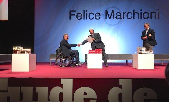 Felice Marchioni, Cliente dell'Anno per L'Espresso 2018