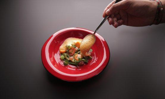 Minestrone di cicale e gamberi: la ricetta dell'inverno di Simone Cipriani(tutte le foto sono diGianni Ugolini)