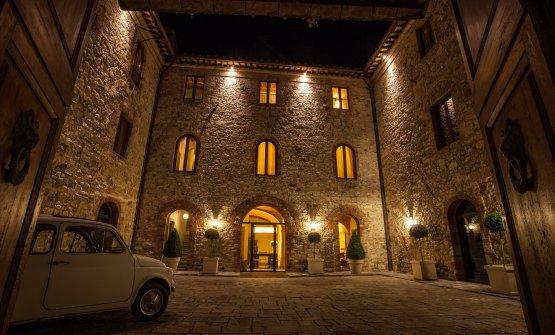 Un'altra suggestiva immagine del castello
