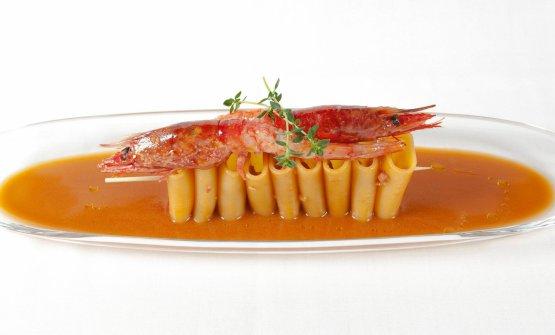 Un piatto della Taverna Estia