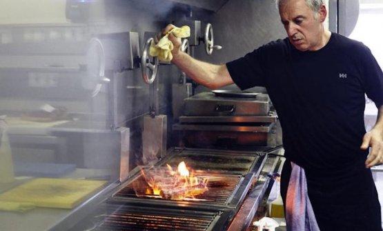 Victor Arguinzoniz al lavoro