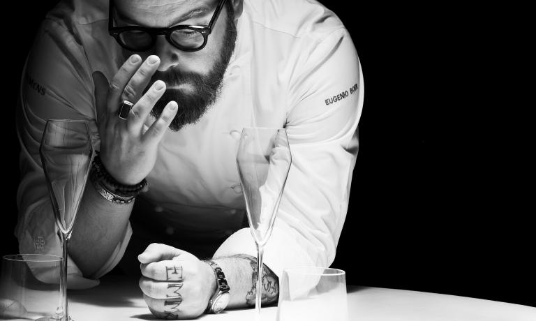 Eugenio Boer al Bu:r, cento giorni dopo l'inaugurazione. Le foto di chef e locale sono di Marco Varoli