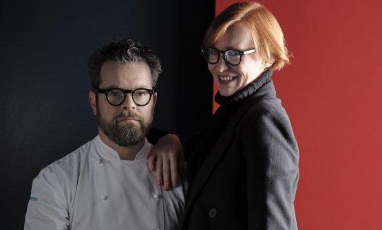Eugenio Boer eCarlotta Perilli, compagna dello chef e maître di sala