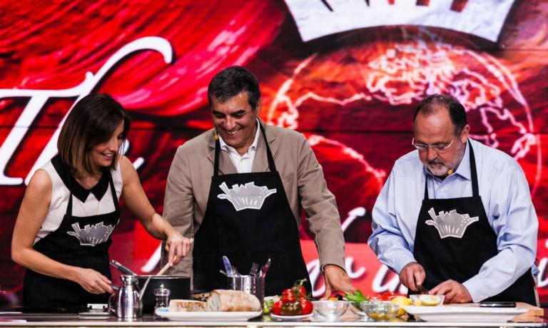 Anche Claudio Ceroni e Paolo Marchi di Identità Golose sono stati ospiti di The CooKing Show. Paolo Marchi tornerà in trasmissione tra pochi giorni per presentare con Lisa Casali il nuovo libro 100 Chef x 10 Anni