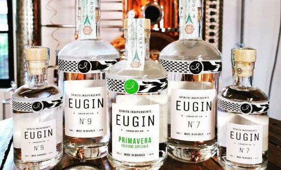 I prodotti di punta diEugin Distilleria Indipend