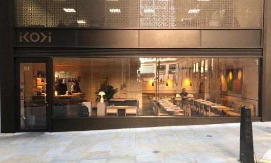 The restaurant in London (photo Ratensperger)