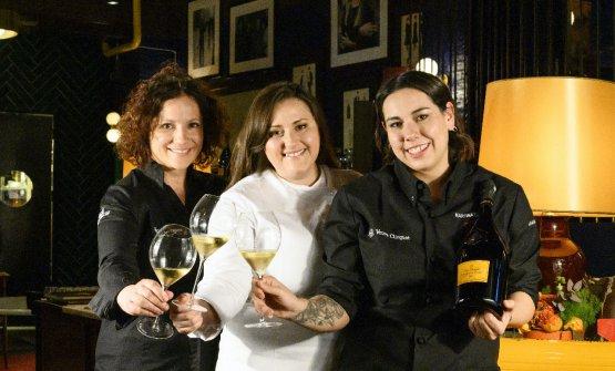 Le vincitrici delle 3 edizioni precedenti: Fabrizia Meroi (Laite, Sappada, Udine), Caterina Ceraudo (Dattilo, Strongoli) e Martina Caruso (Signum, Salina)