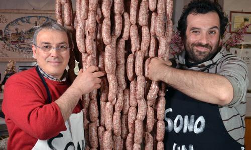 Sergio e il figlio Andrea Falaschi(fotowww.iocucinoilterritorio.it)