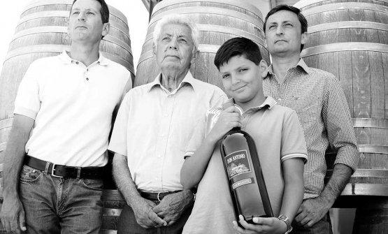 Tre generazioni della famiglia Morgantedell'azienda omonima diGrotte (Agrigento), fondata nel 1994 daAntonio Morgante, sostenuto dai figli Carmelo e Giovanni
