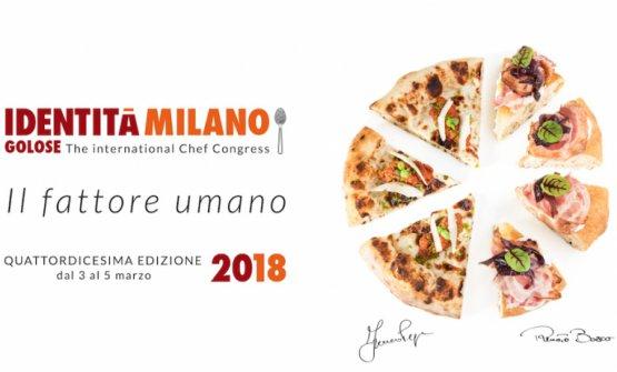 """Franco Pepe e Renato Bosco sono gli """"autori"""" del piatto simbolo di Identità Milano 2018: una pizza"""