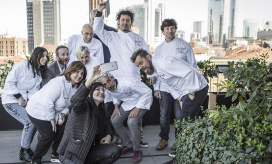 Il gruppo di chef che sarà protagonista di Fish & Chef, ottava edizione. La manifestazione è nata da un'idea di Leandro Luppi, che ne è instancabile motore