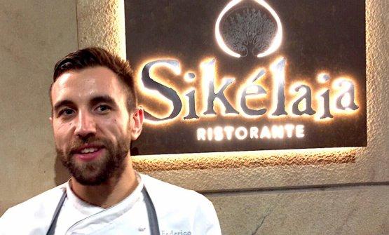 Federico La Paglia, siciliano di Caltanissetta, èlo chef sorpresa dell'anno della Guida ai ristoranti di identità Golose 2018