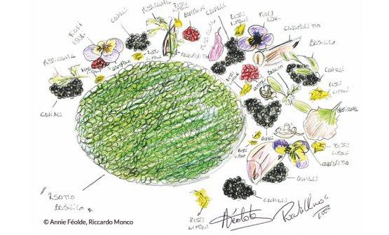 Il piatto diAnnie Féolde e Riccardo Monco di En