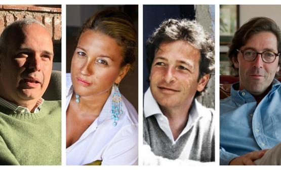 Francesco Ferreri, Mariangela Cambria, Alberto Tasca d'Almerita e Alessio Planeta
