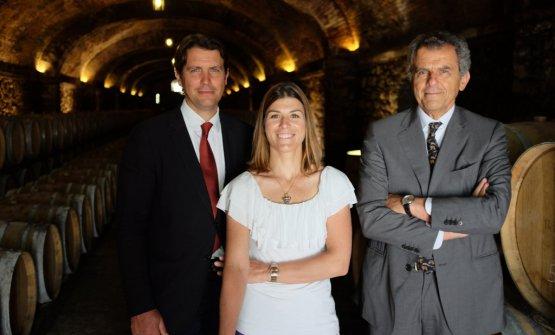 Salvatore, Vittoria e Ferruccio Ferragamo