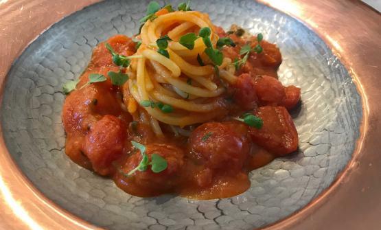 Spaghetti Gerardo di Nola ai cinque pomodori